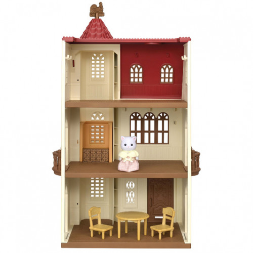 Red Roof Tower House