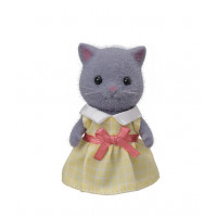Persian Cat  Girl (Grey)