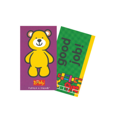 Encourage mini cards- BOBBY (100 pcs)