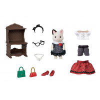 Fashion Play Set- Tuxedo Cat