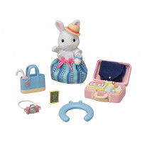 Weekend Travel set- snow rabbit mother