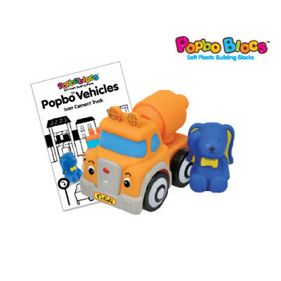 POPBO BLOCS Vehicles - Ivan Cement Truck
