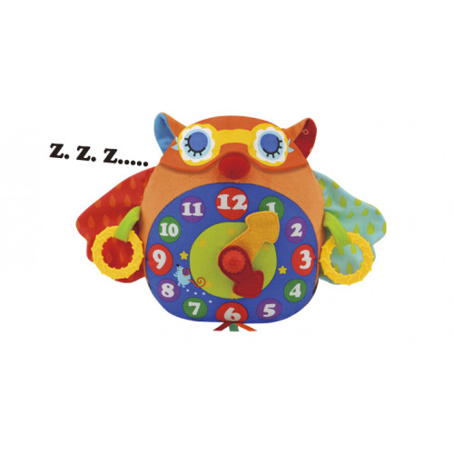 貓頭鷹學習鐘 (Day N Night Owl Clock)