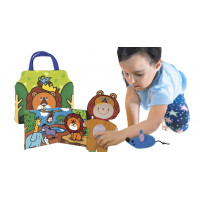Role Play Doll Sets - Lion and Rabbit