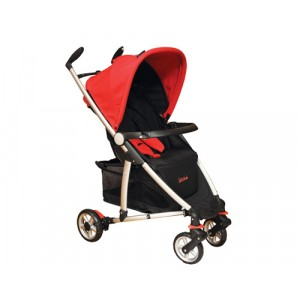 Baby Stroller-Fantasia-Red & Black