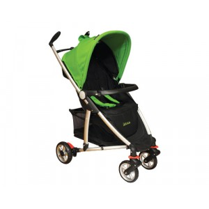 Baby Stroller-Fantasia-Green & Black