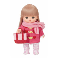 Mell Chan Pink Duffle Coat