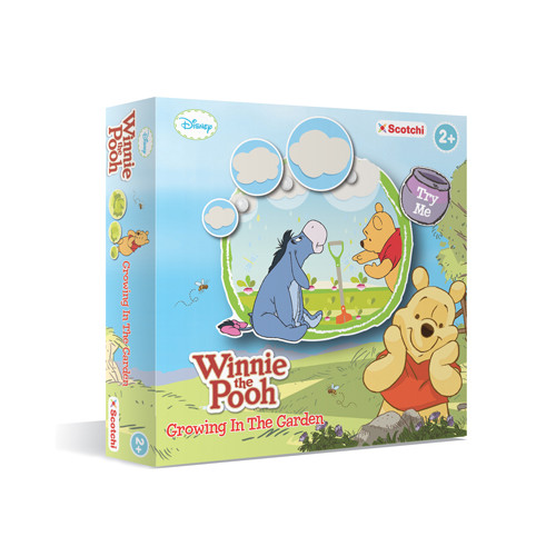 WINNIE THE POOH - GROWING IN THE GARDEN